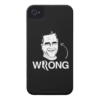 ROMNEY IS WRONG.png iPhone 4 Case-Mate Cases