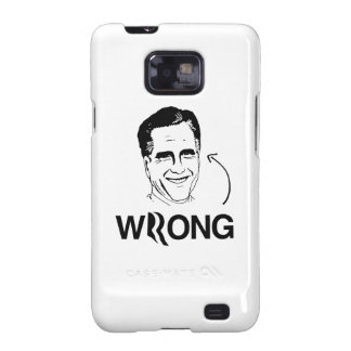 ROMNEY IS WRONG.png Galaxy SII Cases