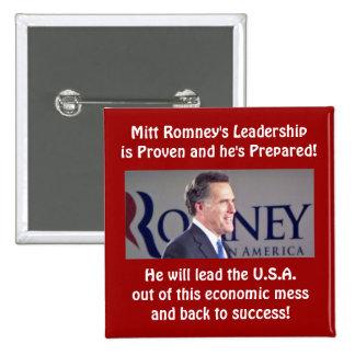 Romney Leadership Square Button