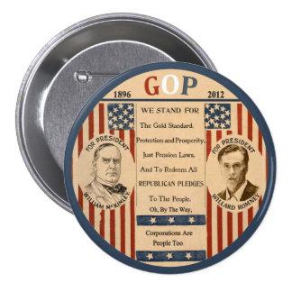 Romney & McKinley Pin