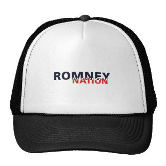 ROMNEY-NATION MESH HAT