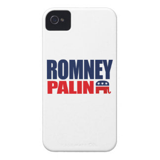 ROMNEY PALIN TICKET 2012.png Case-Mate iPhone 4 Cases