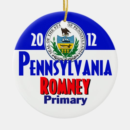 Romney PENNSYLVANIA Ornament