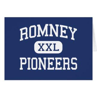 Romney Pioneers Middle Romney West Virginia Greeting Card