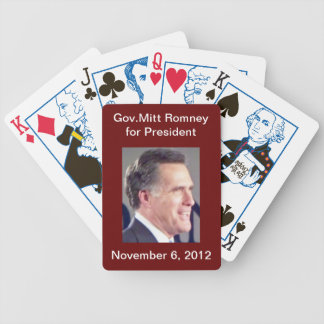 Romney Playing Cards