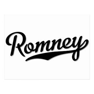 Romney Postcard