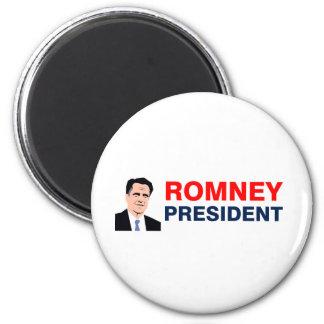 Romney president 2012 magnet