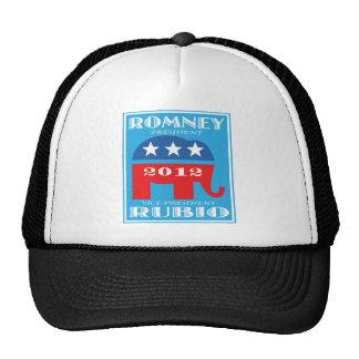 Romney President 2012 Vice President Rubio.png Hats