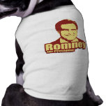 ROMNEY Propaganda Dog Tee