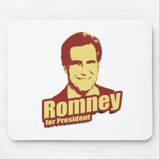 ROMNEY Propaganda Mouse Pad