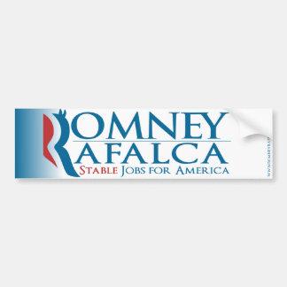 Romney Rafalca 2012 Bumpersticker Bumper Sticker