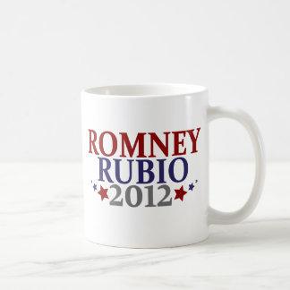 Romney Rubio 2012 Coffee Mugs