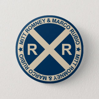 Romney Rubio American Crossroads 6 Cm Round Badge