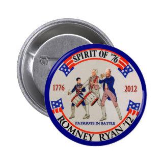 Romney Ryan '12 6 Cm Round Badge