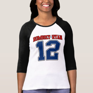 Romney/Ryan '12, Varsity Sport Design, Mitt Romney T-Shirt