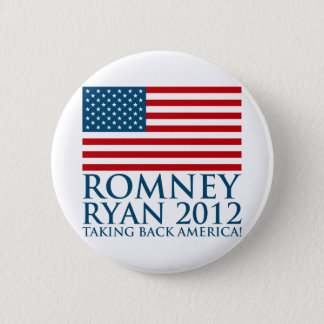 Romney Ryan 2012 6 Cm Round Badge