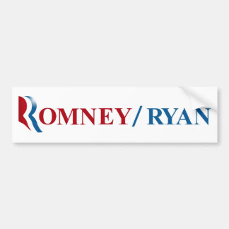 Romney & Ryan 2012 Bumper Sticker