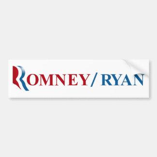 Romney & Ryan 2012 Bumper Sticker