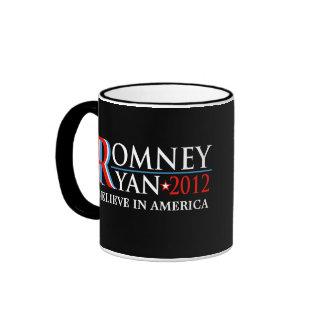 Romney Ryan 2012 Campaign Collectible Mug