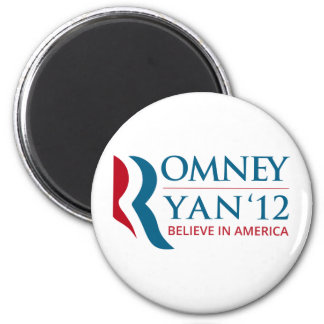Romney Ryan 2012 for US President and VP Magnets
