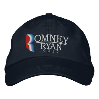 Romney Ryan 2012 Letter R Embroidered Hat