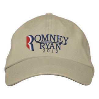 Romney/Ryan 2012 Letter R Light Embroidered Hat