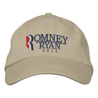 Romney/Ryan 2012 Letter R Light Embroidered Hat