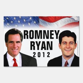 Romney/Ryan 2012 Photo Yard Sign