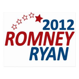 Romney Ryan 2012 Post Cards