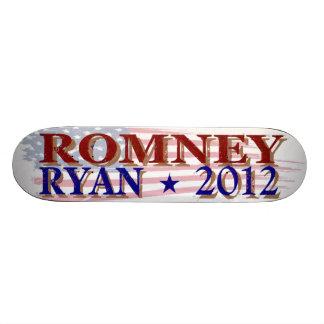 Romney Ryan 2012 president skateboard