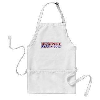 ROMNEY RYAN 2012 president Standard Apron