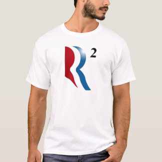 "Romney & Ryan 2012 - ""R squared"" T-Shirt"