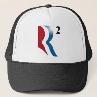 "Romney & Ryan 2012 - ""R squared"" Trucker Hat"