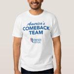 Romney Ryan America's Comeback Team Shirt