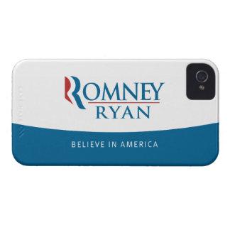 Romney Ryan Believe in America iPhone 4 Case