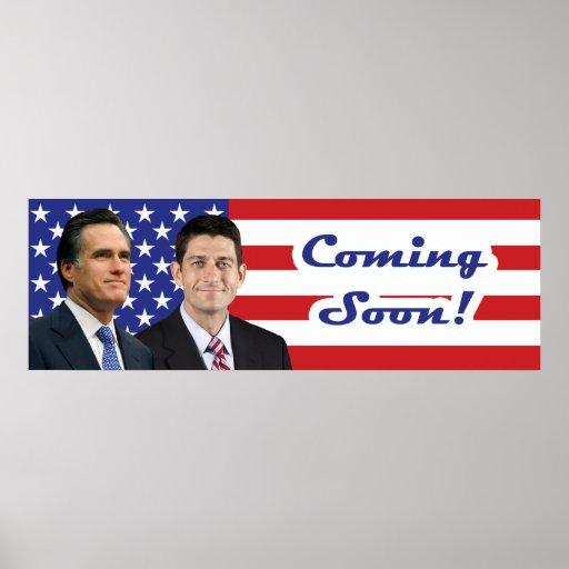 Romney-Ryan - Coming Soon! Print