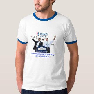 Romney-Ryan: Defending the American Way. T-Shirt