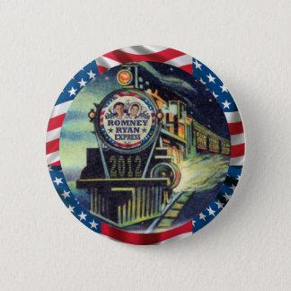 Romney Ryan Express 2012 6 Cm Round Badge