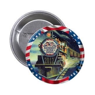 Romney Ryan Express 2012 6 Cm Round Badge