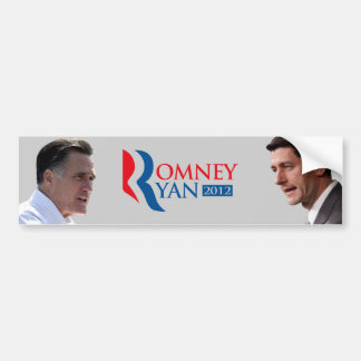 Romney Ryan for America 2012 Bumper Sticker