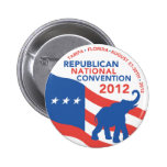 Romney Ryan For President 2012 6 Cm Round Badge