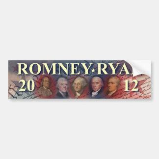 Romney - Ryan - Forefathers - 2012 Bumper Sticker