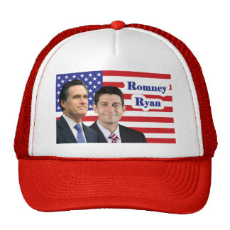 Romney-Ryan Mesh Hats