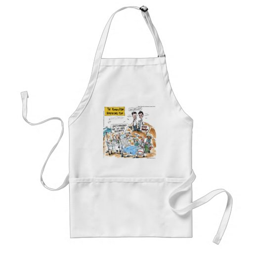 Romney/Ryan Health Care Funny Gifts & Tees Apron