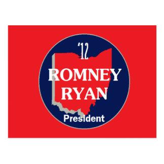 Romney Ryan OHIO Postcards