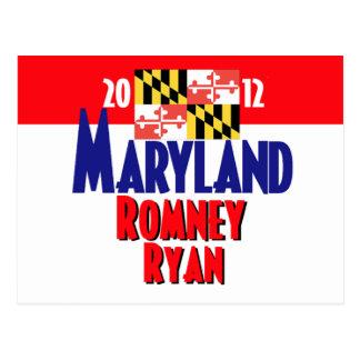 Romney Ryan Post Card