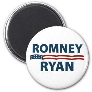 Romney Ryan Stars and Stripes 6 Cm Round Magnet