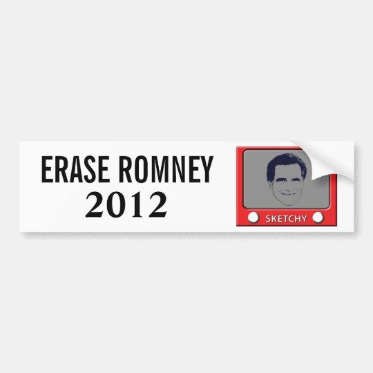 Romney Sketch Toy Bumper Sticker