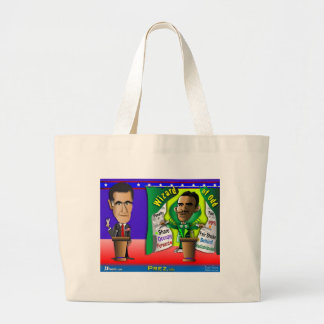 Romney vs Wizard of Odd Canvas Bags