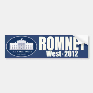 Romney West - Mitt Romney President Allen West VP Bumper Stickers